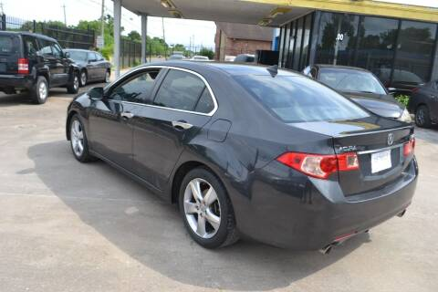 2012 Acura TSX for sale at Preferable Auto LLC in Houston TX