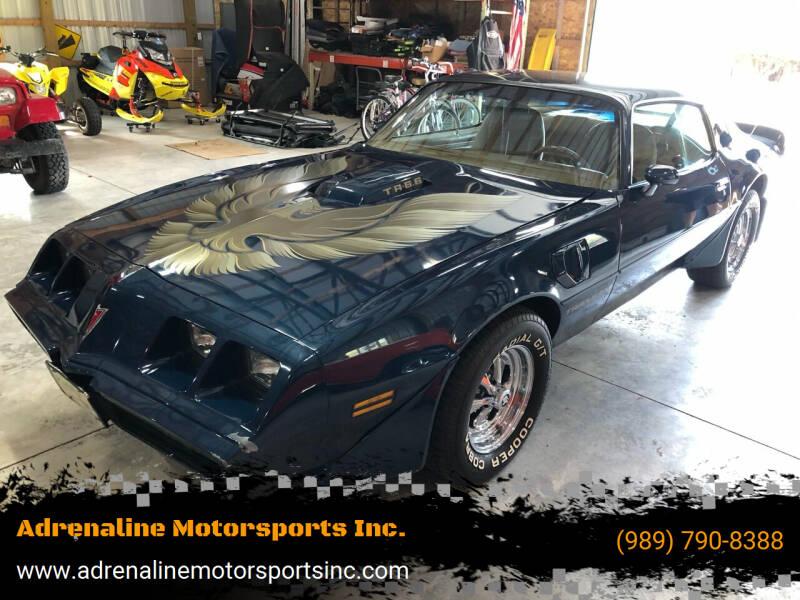 1979 Pontiac Trans Am for sale at Adrenaline Motorsports Inc. in Saginaw MI