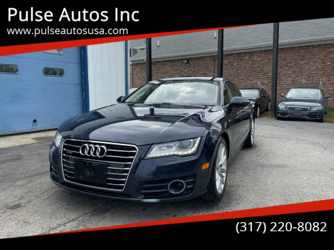 2012 Audi A7 for sale at Pulse Autos Inc in Indianapolis IN