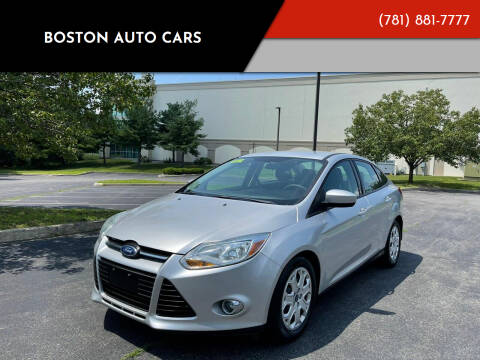 2012 Ford Focus for sale at Boston Auto Cars in Dedham MA