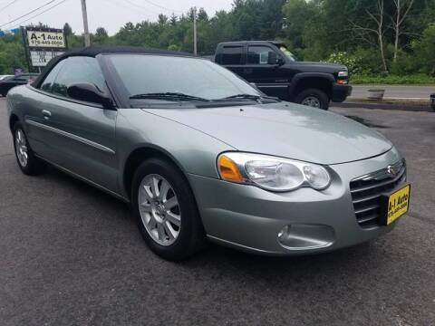 2005 Chrysler Sebring for sale at A-1 Auto in Pepperell MA