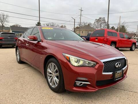 2014 Infiniti Q50 for sale at Auto Gallery LLC in Burlington WI