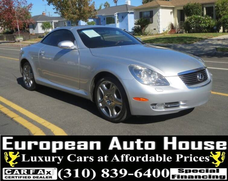 2007 Lexus SC 430 for sale at European Auto House in Los Angeles CA