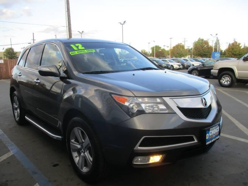 2012 Acura MDX for sale at Choice Auto & Truck in Sacramento CA