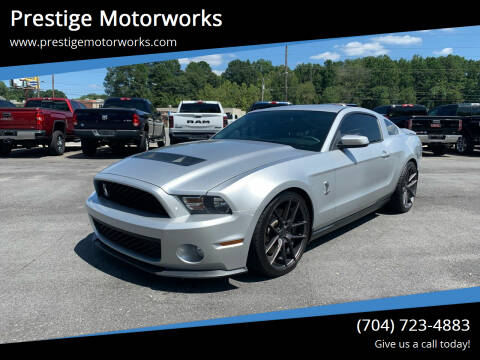 2010 Ford Shelby GT500 for sale at Prestige Motorworks in Concord NC