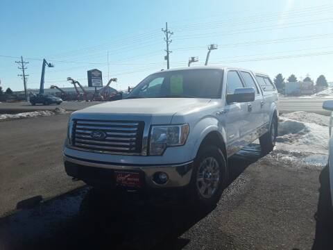 2011 Ford F-150 for sale at BARNES AUTO SALES in Mandan ND