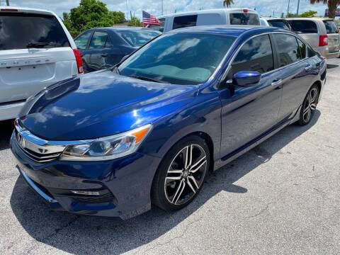2017 Honda Accord for sale at INTERNATIONAL AUTO BROKERS INC in Hollywood FL