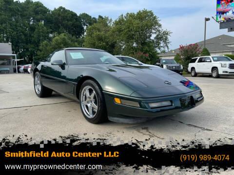 1995 Chevrolet Corvette for sale at Smithfield Auto Center LLC in Smithfield NC