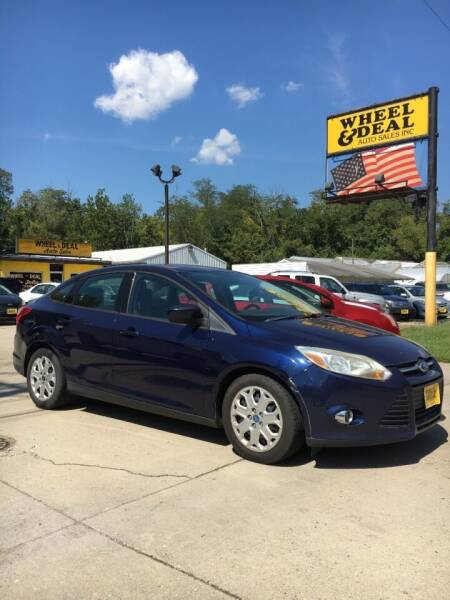 2012 Ford Focus for sale at Wheel & Deal Auto Sales Inc. in Cincinnati OH