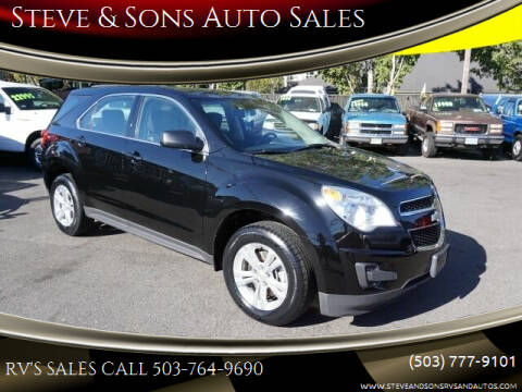 2011 Chevrolet Equinox for sale at Steve & Sons Auto Sales in Happy Valley OR