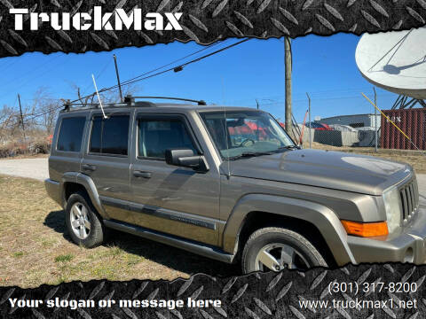 2006 Jeep Commander for sale at TruckMax in N. Laurel MD