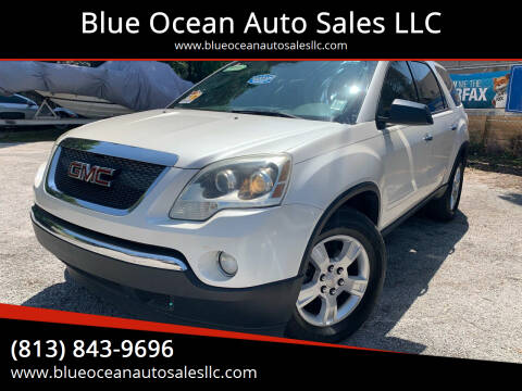 2011 GMC Acadia for sale at Blue Ocean Auto Sales LLC in Tampa FL