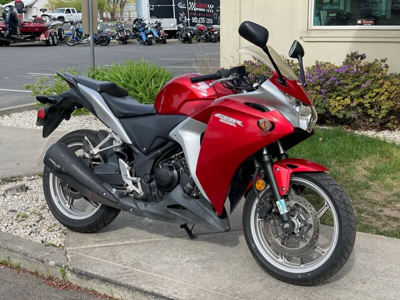 2011 Honda CBR250R for sale at Harper Motorsports-Powersports in Post Falls ID