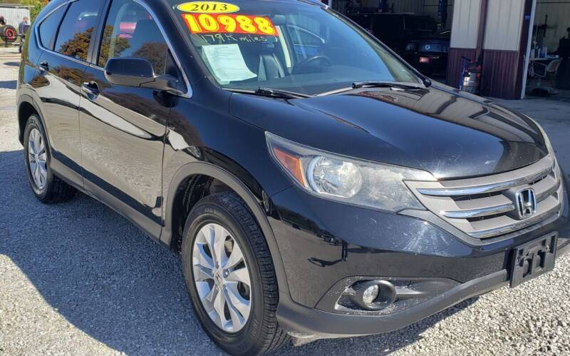 2013 Honda CR-V for sale at COOPER AUTO SALES in Oneida TN