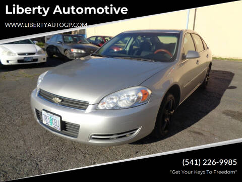 2008 Chevrolet Impala for sale at Liberty Automotive in Grants Pass OR