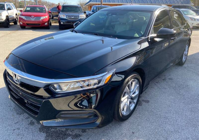 2018 Honda Accord for sale at Morristown Auto Sales in Morristown TN