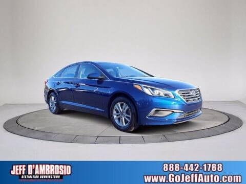 2016 Hyundai Sonata for sale at Jeff D'Ambrosio Auto Group in Downingtown PA