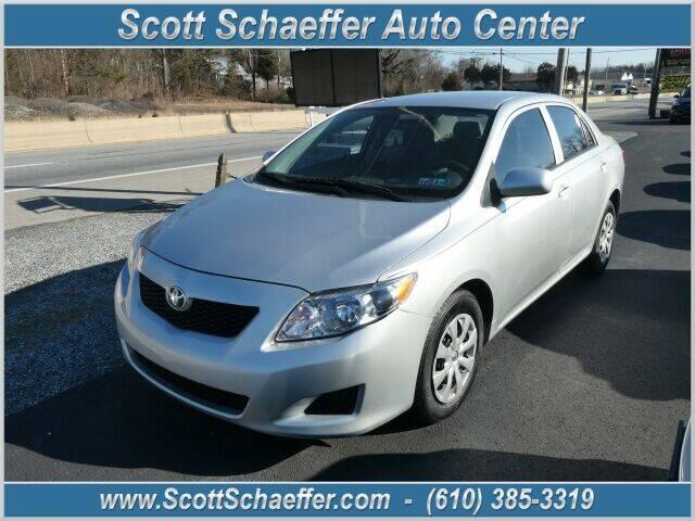 2010 Toyota Corolla for sale at Scott Schaeffer Auto Center in Birdsboro PA