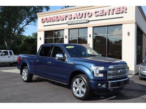 2016 Ford F-150 for sale at DORMANS AUTO CENTER OF SEEKONK in Seekonk MA