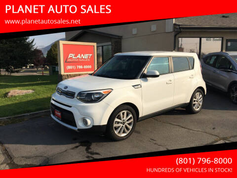 2018 Kia Soul for sale at PLANET AUTO SALES in Lindon UT