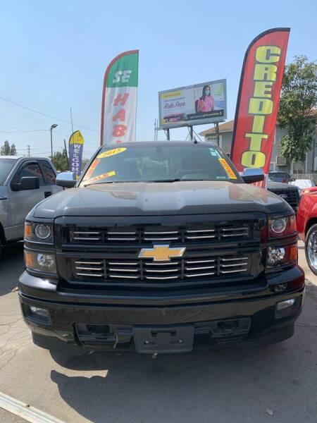 2015 Chevrolet Silverado 1500 for sale at Victory Auto Sales in Stockton CA