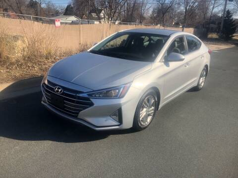 2019 Hyundai Elantra for sale at ONG Auto in Farmington MN