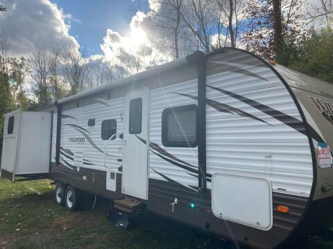 2018 Forest River wildwood 31kqbts for sale at Ogden Auto Sales LLC in Spencerport NY