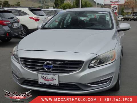 2014 Volvo S60 for sale at McCarthy Wholesale in San Luis Obispo CA