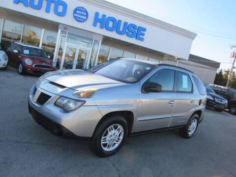 2003 Pontiac Aztek for sale at Auto House Motors in Downers Grove IL