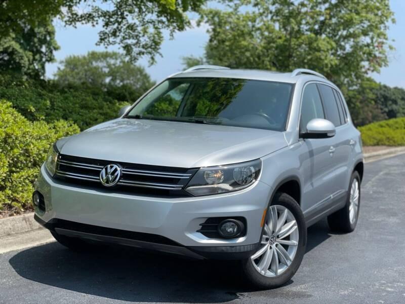2013 Volkswagen Tiguan for sale at William D Auto Sales in Norcross GA