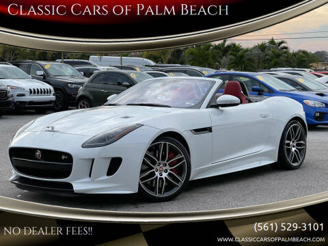 2017 Jaguar F-TYPE for sale at Classic Cars of Palm Beach in Jupiter FL