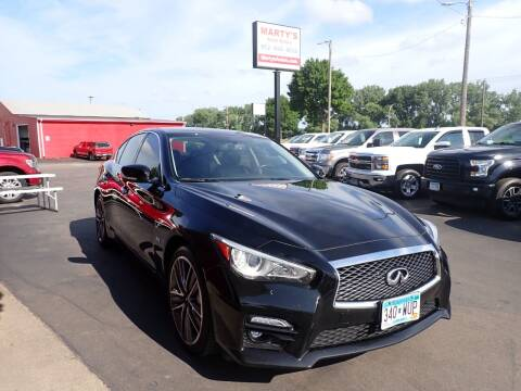 2017 Infiniti Q50 for sale at Marty's Auto Sales in Savage MN
