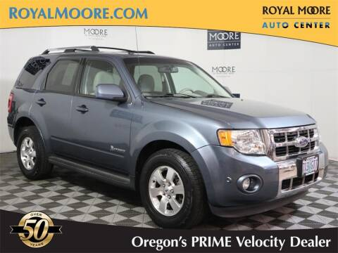2011 Ford Escape Hybrid for sale at Royal Moore Custom Finance in Hillsboro OR