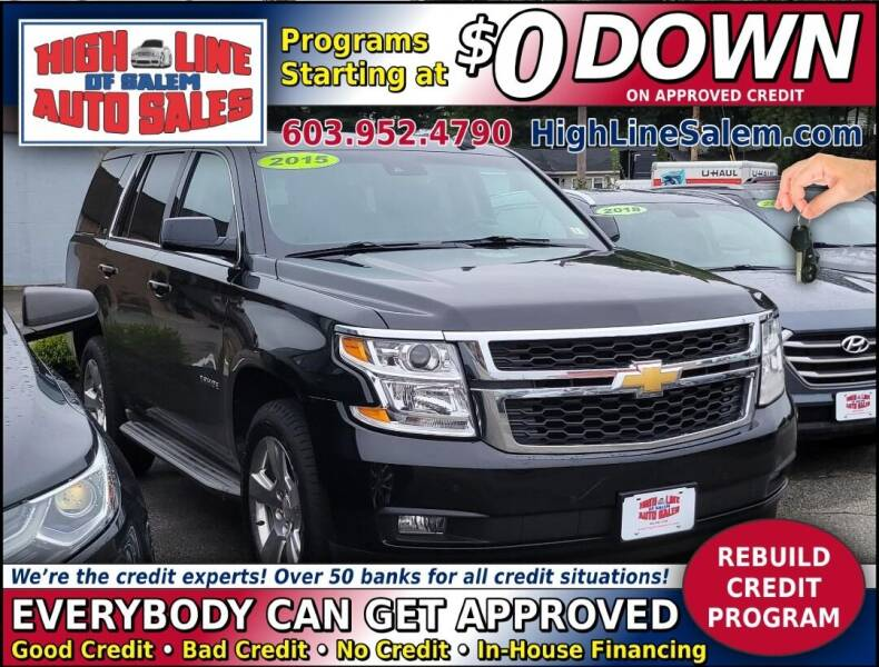 2015 Chevrolet Tahoe for sale at High Line Auto Sales of Salem in Salem NH