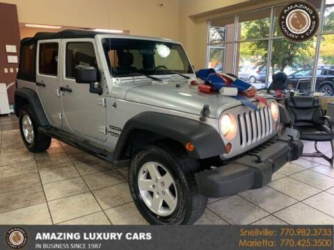 2012 Jeep Wrangler Unlimited for sale at Amazing Luxury Cars in Snellville GA