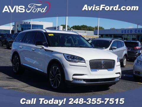 2020 Lincoln Aviator for sale at Work With Me Dave in Southfield MI