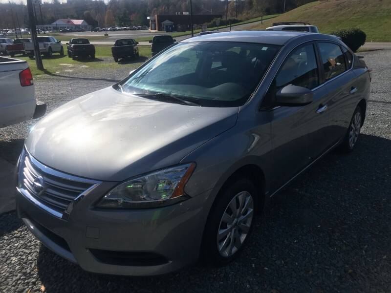 2014 Nissan Sentra for sale at Clayton Auto Sales in Winston-Salem NC