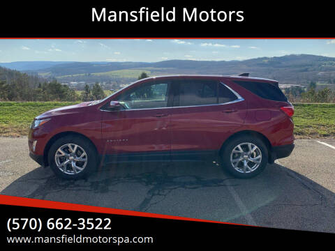 2018 Chevrolet Equinox for sale at Mansfield Motors in Mansfield PA