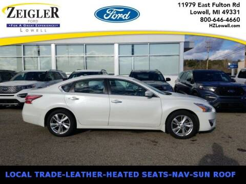 2015 Nissan Altima for sale at Zeigler Ford of Plainwell- Jeff Bishop in Plainwell MI