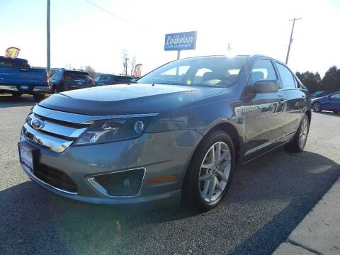 2012 Ford Fusion for sale at Leitheiser Car Company in West Bend WI