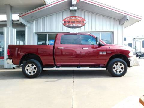 2016 RAM Ram Pickup 2500 for sale at Motorsports Unlimited in McAlester OK