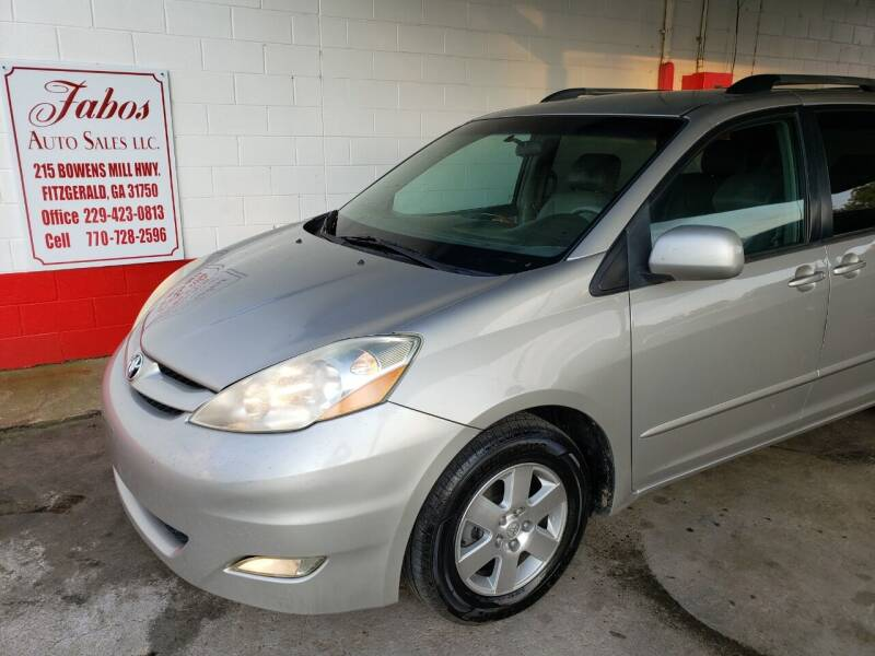 2006 Toyota Sienna for sale at Fabos Auto Sales LLC in Fitzgerald GA