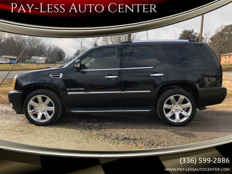 2008 Cadillac Escalade for sale at Pay-Less Auto Center in Roxboro NC