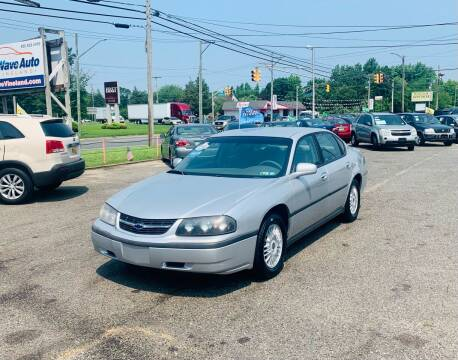 2001 Chevrolet Impala for sale at New Wave Auto of Vineland in Vineland NJ