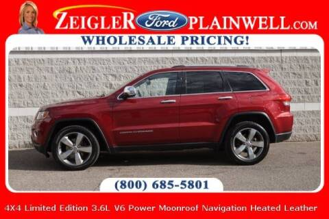 2014 Jeep Grand Cherokee for sale at Zeigler Ford of Plainwell- michael davis in Plainwell MI