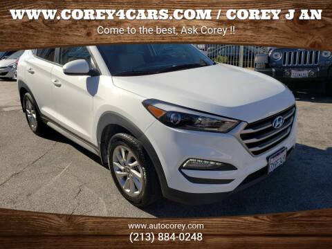 2017 Hyundai Tucson for sale at WWW.COREY4CARS.COM / COREY J AN in Los Angeles CA