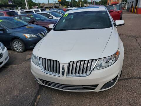 2011 Lincoln MKS for sale at Brothers Used Cars Inc in Sioux City IA
