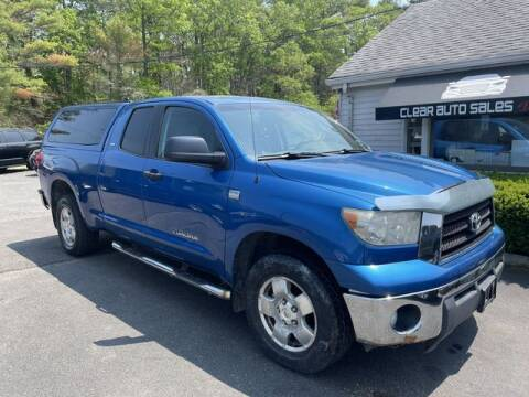 2007 Toyota Tundra for sale at Clear Auto Sales in Dartmouth MA
