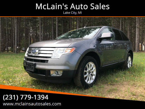 2010 Ford Edge for sale at McLain's Auto Sales in Lake City MI