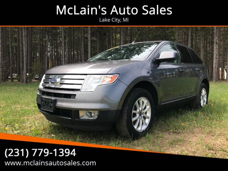 2010 Ford Edge for sale at McLain's Auto Sales in Lake City MI